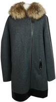 SAM. Rone Grey Cashmere Coat for Women