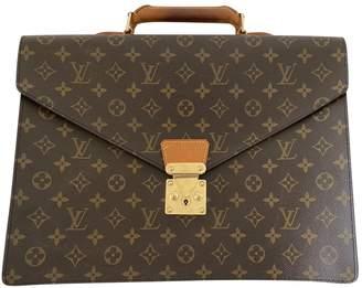 Louis Vuitton Laguito Brown Cloth Bags