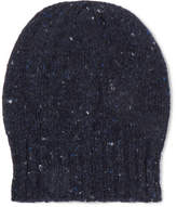 Anderson & Sheppard Donegal Wool And Cashmere-Blend Beanie