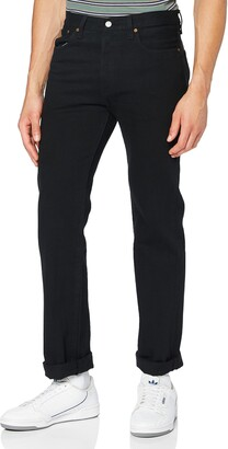 Levi's Men's 501 Original Shrink-to-Fit Jeans - Black -W31/L30