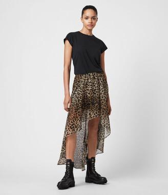 AllSaints Slvina Leppo Skirt