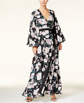 Fame and Partners Floral-Print Maxi Dress