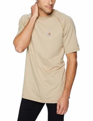 Carhartt Men's Big Big & Tall Flame Resistant Force Short Sleeve T Shirt