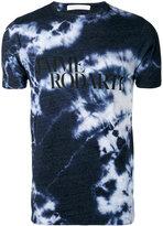 Rodarte Love Hate tie dye T-shirt - unisex - Cotton/Polyester/Rayon - M