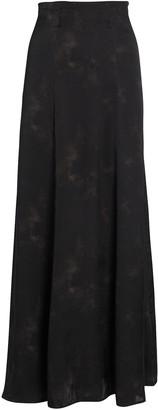 Anine Bing Caroline Silk Tie-Dye Skirt
