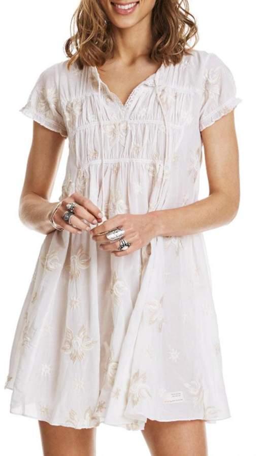 Odd Molly Cream White Dress