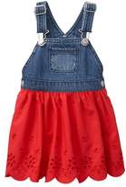 Gymboree Overall Eyelet Dress