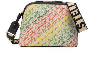 Stella McCartney Eco Monogram Slogans Shoulder Bag