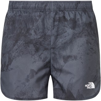 The North Face Active Trail Running Shorts, Asphalt Grey Bucky Valley Print