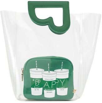 Bapy By *A Bathing Ape® Transparent Cutout Tote Bag