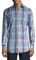 Peter Millar Crown Sailing Plaid Shirt