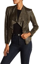 Insight Cracked Faux Leather Jacket