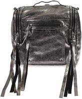 McQ Loveless Convertible Leather Backpack
