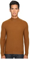 The Kooples Cotton and Nylon Mock Turtleneck Men's Sweater