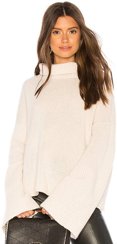360CASHMERE Lulu Turtleneck Sweater