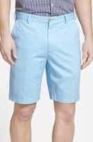 Peter Millar Men's 'Winston' Washed Twill Flat Front Shorts