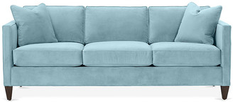 One Kings Lane Cecilia Sofa - Light Blue Crypton