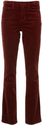 L'Agence Flared Velvet Jeans