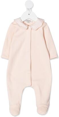 Lanvin Enfant JL maze collar pyjamas