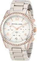 Michael Kors Women's Blair MK5459 Silver Stainless-Steel Quartz Watch