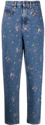 Philosophy di Lorenzo Serafini Floral-Print Mom Jeans