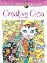 Dover Creative Haven Creative Cats Coloring Book