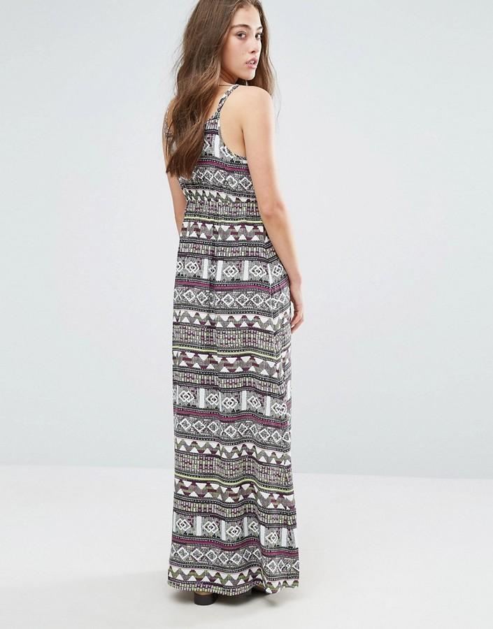 Vero Moda Super Easy Printed Maxi Dress