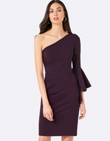 Forever New Kady Flounce Sleeve Dress