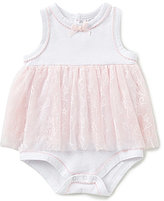 Starting Out Baby Girls Newborn-9 Months Lace Skirt Bodysuit