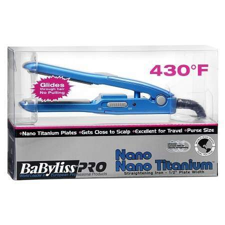 Babyliss 1/2 inch Straightening Iron