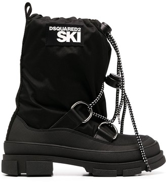 DSQUARED2 Side-Logo Snow Boots