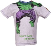 Kids Headless Incredible Hulk Dont Make Me Angry T Shirt from Fabric Flavours