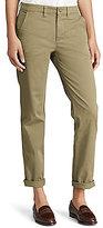 Lauren Ralph Lauren Petite Stretch Cotton Straight Pant