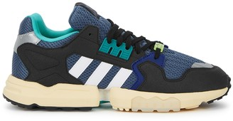 adidas ZX Torsion blue panelled sneakers