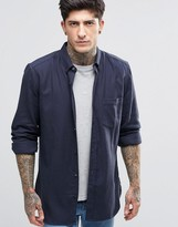 French Connection Plain Flannel Shirt