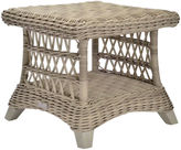 Janus et Cie Arbor Woven Side Table, Seashell