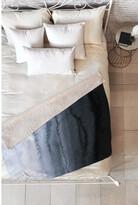 Deny Designs Monika Strigel Within The Tides Stormy Weather Grey Fleece Throw Blanket
