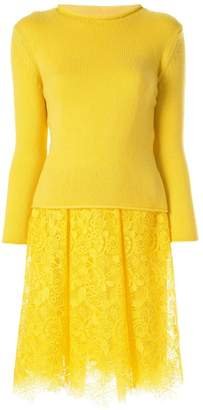 Ermanno Scervino half knit dress