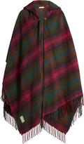 Vivienne Westwood Hooded tartan poncho
