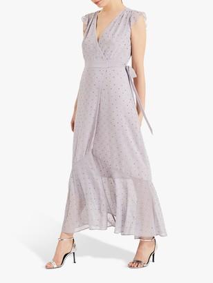 Phase Eight Kimmy Wrap Dress, Misty Mauve