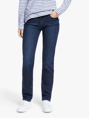 Lee Marion Regular Straight Leg Jeans, Dark Truxel