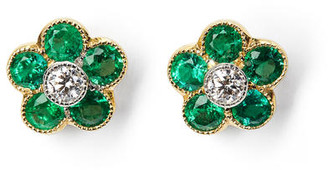 Aspinal of London Athena Cluster Stud Earrings