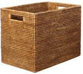 OKA Rattan High Delta Storage Box, Small