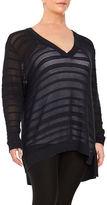 MICHAEL Michael Kors Plus Knit V-Neck Sweater