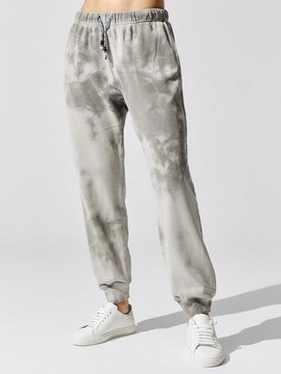 Dannijo Tie Dye Sweatpants With Beaded Drawstring