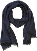 Versace Medusa Wool & Silk Jacquard Scarf