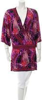 Roberto Cavalli Printed V-Neck Tunic