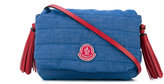 Moncler quilted tassel detail shoulder bag - kids - Cotton/Polyester/Spandex/Elastane - One Size