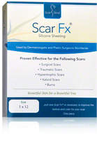 Scar Fx Silicone Sheeting 1 x 12 in