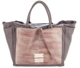 See by Chloe Embossed Leather Satchel